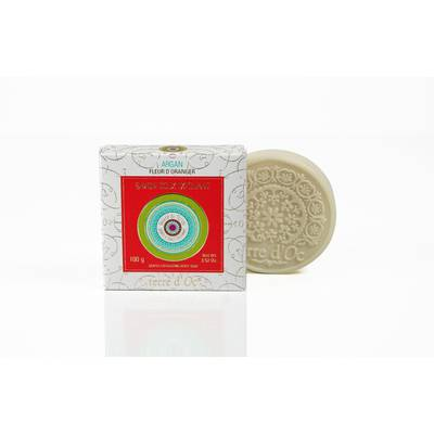 Savon doux exfoliant à l'Argan - Terre d'Oc - Hygiène