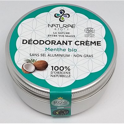 Déodorant crème - NATURAE BIOTY - Hygiène