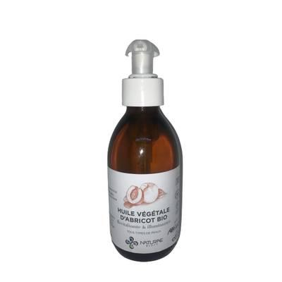 Huile végétale d'Abricot Bio - NATURAE BIOTY - Massage et détente - Corps