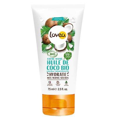 Crème mains Huile de Coco - LOVEA - Corps