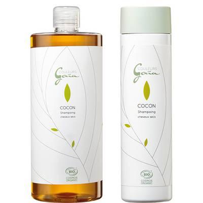 Shampoing pour cheveux secs - Cocon - COULEURS GAÏA - Cheveux
