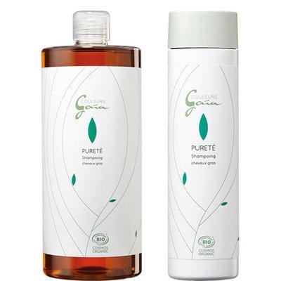 Shampoing pour cheveux gras - Pureté - COULEURS GAÏA - Cheveux