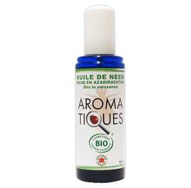 Aromatiques huiles de neem - Vecteur energy - Massage and relaxation
