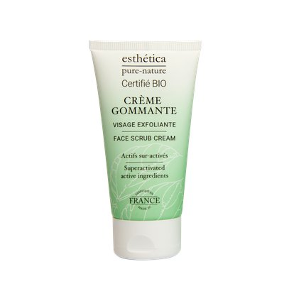 Crème gommante visage exfoliante - ESTHETICA PURE NATURE - Visage