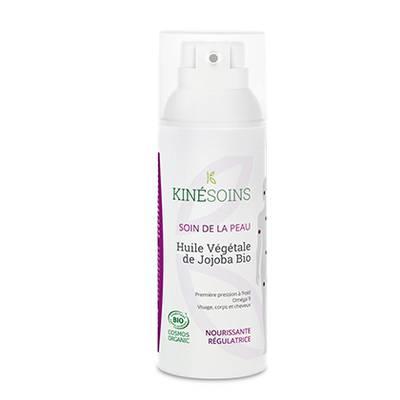 Huile Végétale de Jojoba - KINESOINS - Visage - Cheveux - Massage et détente - Corps