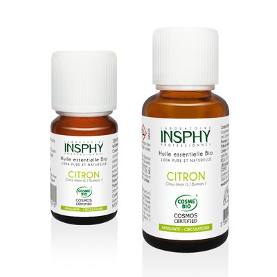 Lemon Essential Oil - INSPHY - Diy ingredients