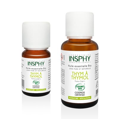 Huile Essentielle de Thym à Thymol - INSPHY - Ingrédients diy