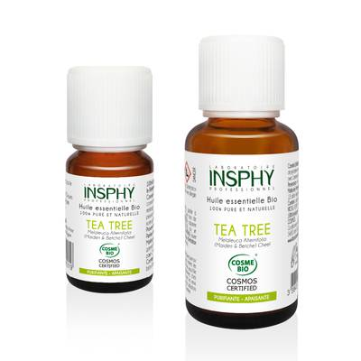 Huile Essentielle de Tea Tree - INSPHY - Ingrédients diy