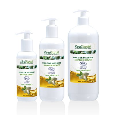 Massage Oil - KINESANTE - Face - Hair - Baby / Children - Massage and relaxation - Diy ingredients - Body