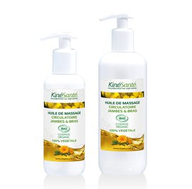 Massage Oil - KINESANTE - Massage and relaxation - Body