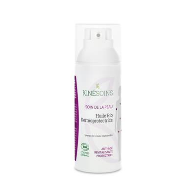 Huile Dermoprotectrice bio - KINESOINS - Visage - Cheveux - Massage et détente - Corps