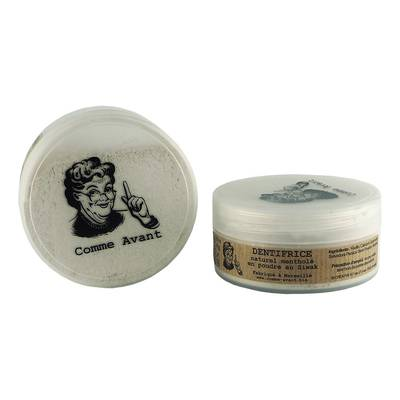 Dentifrice naturel mentholé en poudre au Siwak - Comme Avant - Hygiène