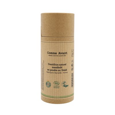 Natural toothpaste without perfume - Comme Avant - Hygiene