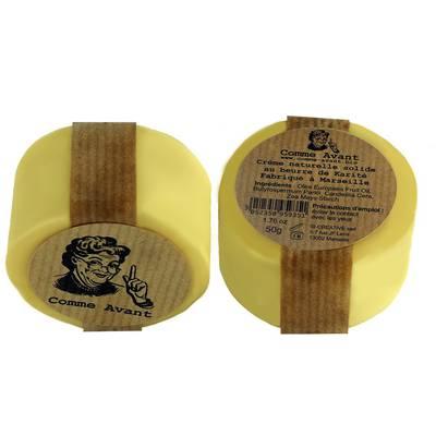 Crème naturelle solide au beurre de Karité - Comme Avant - Visage - Corps - Cheveux