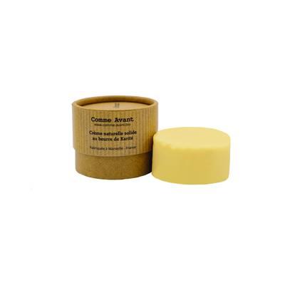 Crème solide au beurre de Karité - Comme Avant - Visage - Cheveux - Corps