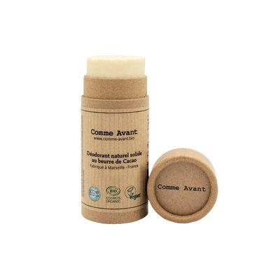Déodorant solide au beurre de cacao - Comme Avant - Hygiène