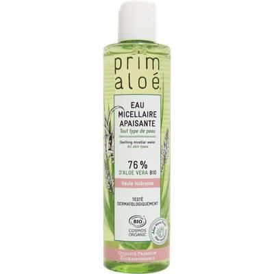 eau micellaire - PRIM ALOE de BELIFLOR - Visage