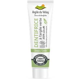 image produit Sage green clay tooth paste