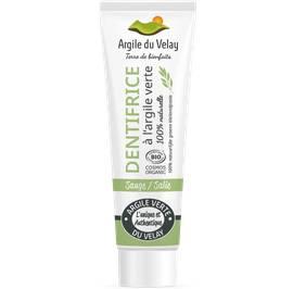 dentifrice à l'argile verte du velay - sauge - Argile du velay - Hygiène