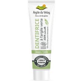 Sage green clay tooth paste - Argile du velay - Hygiene