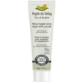 pate d'argile verte du Velay - Argile du velay - Visage - Corps - Cheveux