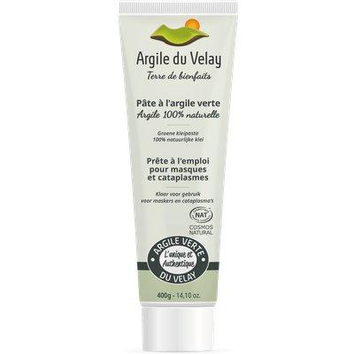 pate d'argile verte du Velay - Argile du velay - Visage - Cheveux - Corps