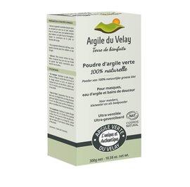 Poudre d'argile verte du Velay - Ultra-ventilée - Argile du velay - Face - Hair - Body