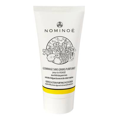Gommage sans grains purifiant visage - NOMINOË - Visage