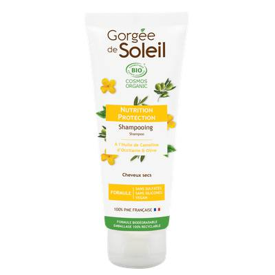 Shampooing Nutrition & Protection sans sulfate - GORGEE DE SOLEIL - Cheveux