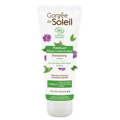 Shampooing Purifiant sans sulfate - GORGEE DE SOLEIL - Cheveux