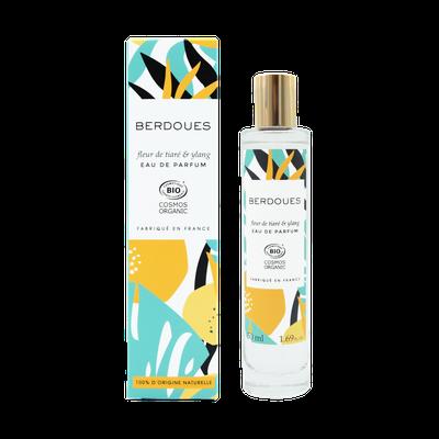 Fleur de Tiaré & Ylang - BERDOUES - Parfums et eaux de toilette