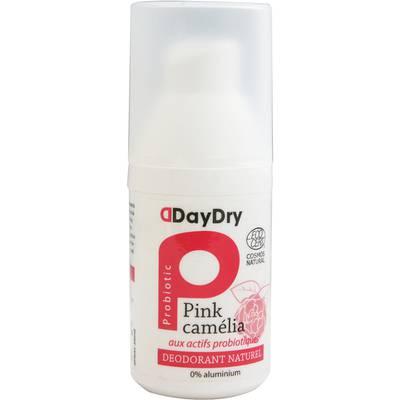 Déodorant aux actifs probiotiques Pink Camélia - daydry probiotics - Hygiène