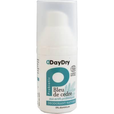 Déodorant aux actifs probiotiques Bleu de Cèdre - daydry probiotics - Hygiène