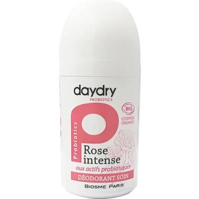 Déodorant soin aux actifs probiotiques Rose Intense - daydry probiotics - Hygiène