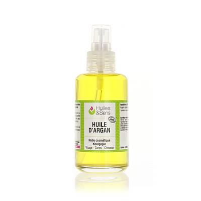 Huile d'Argan - Huiles & Sens - Massage et détente - Ingrédients diy - Cheveux - Visage - Corps