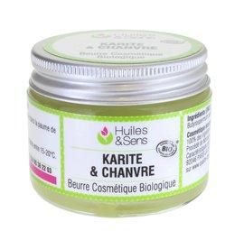 Beurre de Karité & Chanvre - Huiles & Sens - Face - Diy ingredients - Body