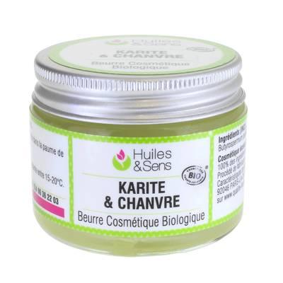 Beurre de Karité & Chanvre - Huiles & Sens - Visage - Ingrédients diy - Corps