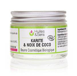 image produit Beurre de karité & noix de coco bio