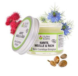 Beurre de Karité & Nigelle & Ricin Bio - Huiles & Sens - Face - Diy ingredients - Body