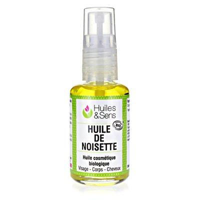Huile de Noisette - Huiles & Sens - Visage - Ingrédients diy