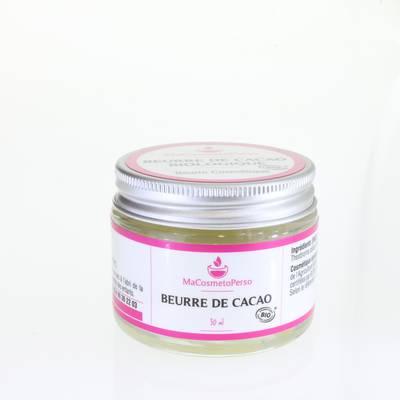 Beurre de Cacao brut - Huiles & Sens - Massage et détente - Ingrédients diy