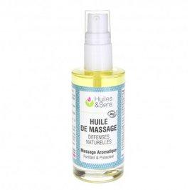 Immune-enhancing Massage Oil - Huiles & Sens - Massage and relaxation