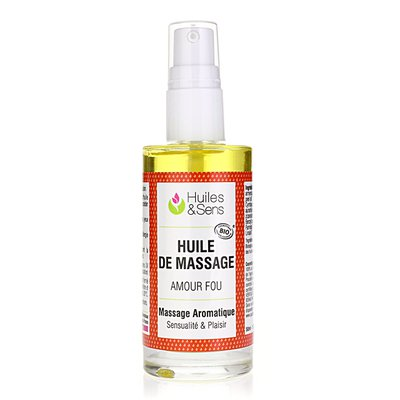 Amour Fou Massage Oil - Huiles & Sens - Massage and relaxation - Body