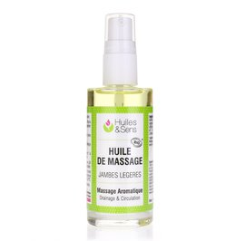 Foot & Leg Care Massage Oil - Huiles & Sens - Massage and relaxation - Body