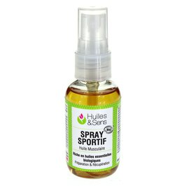 Sports Spray Massage Oil - Huiles & Sens - Body