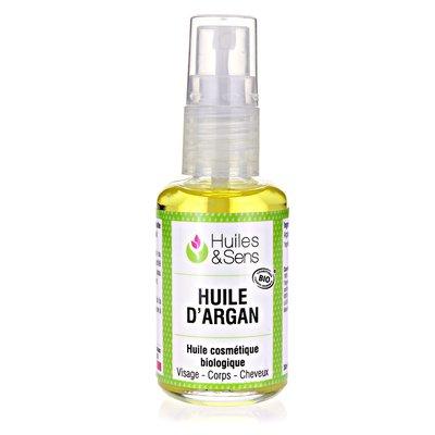 HUILE D'ARGAN - Huiles & Sens - Massage et détente