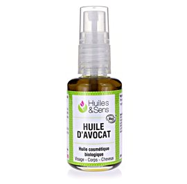 Avocado oil - Huiles & Sens - Massage and relaxation