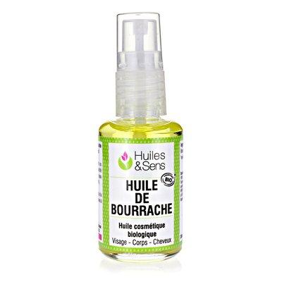 HUILE DE BOURRACHE - Huiles & Sens - Massage et détente