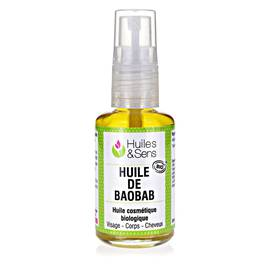 Baobab oil organic - Huiles & Sens - Massage and relaxation