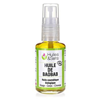 HUILE DE BAOBAB - Huiles & Sens - Massage et détente